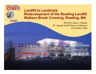 Landfill to Landmark - Solid Waste Association of North America