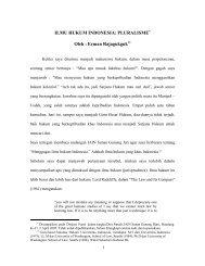 ILMU HUKUM INDONESIA - Erman dan Hukum