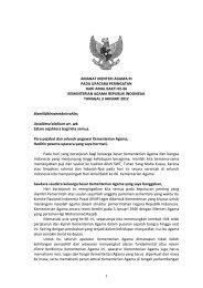 Amanat Menag HAB Kemenag Ke-66 - Portal Kementerian Agama RI