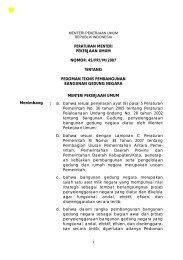 Pedoman Teknis Pembangunan Bangunan Gedung ... - ULP Untirta