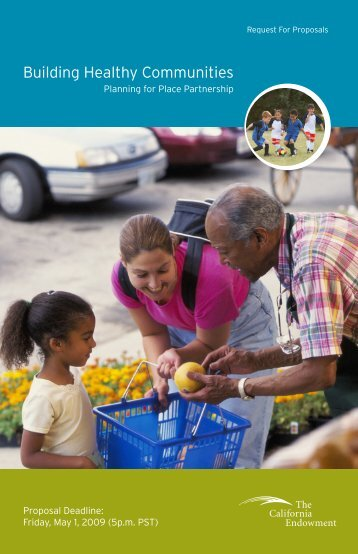 The California Endowment – Building Healthy Communities