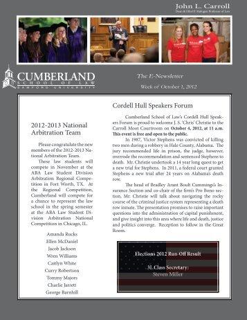 2012.10.01 - Samford University