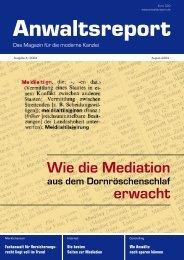 Wie die Mediation erwacht - Anwalt-Suchservice