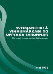 sveigjanleiki á vinnumarkaði og upptaka evrunnar - Samtök ...