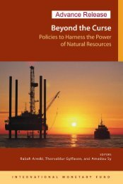 Policies to Harness the Power of Natural Resources