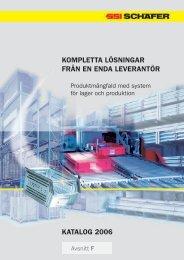 kompletta lösningar från en enda leverantör katalog 2006