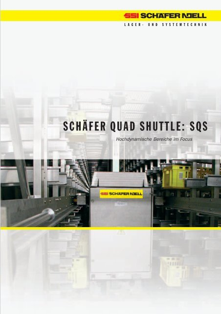 Schäfer Quad Shuttle Sqs Ssi Schaefer