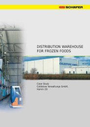DISTRIBUTION WAREHOUSE FOR FROZEN FOODS