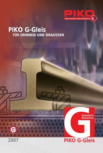 PIKO G-Gleis - myLargescale.com