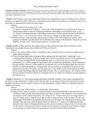 Romans 11:1-15 (PDF) - Caltech Robotics