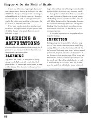 Bleeding & Amputations - Arc Dream Publishing