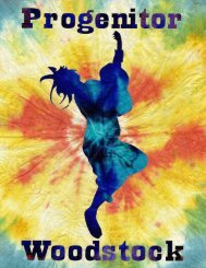 Progenitor: Woodstock - Arc Dream Publishing