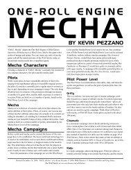 ORE Mecha - Arc Dream Publishing
