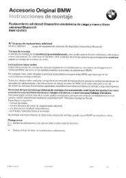 Reequipar modulo Bluetooth - BMW Carx Spain