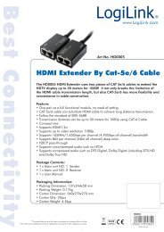 HDMI Extender By Cat-5e/6 Cable