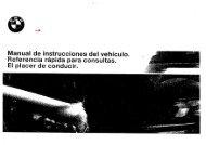 Manual de usuario del Serie 5 E39, Español - BMW Carx Spain