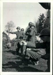 Chet Frantz, age 19, at target practice, Leonberg, Germany, Spring ...