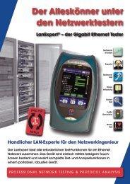 Der Alleskönner unter den Netzwerktestern LanExpert - aplusnet.de