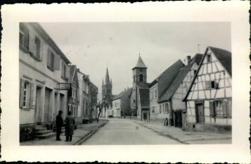 Reilingen, Baden, Germany, April, 1945