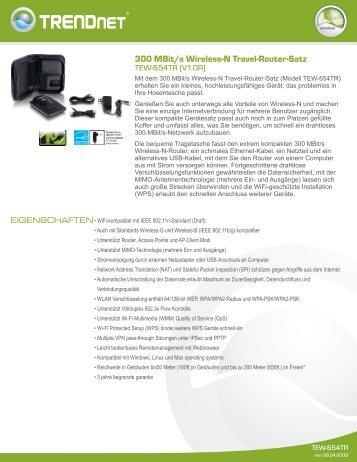 TRENDnet TEW-654TR - aplusnet.de