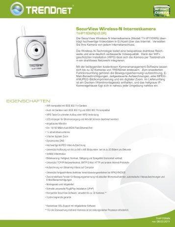 SecurView Wireless-N Internetkamera - aplusnet.de