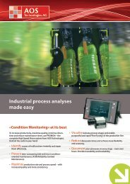 Process Monitoring brochure in English (PDF) - AOS Technologies AG