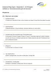 K1.4.1 Leitfaden zur Informationssammlung Anamnese