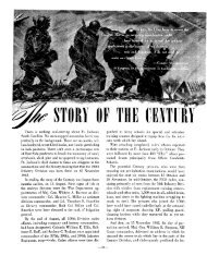 The STORY OF THE CENTURY - The George C. Marshall Foundation