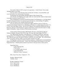 Hq 1st Bn - The George C. Marshall Foundation