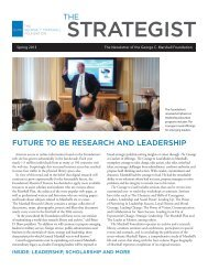 Read our newsletter The Strategist online. Click here.