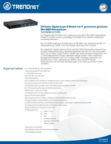 TRENDnet TL2-G224 - aplusnet.de