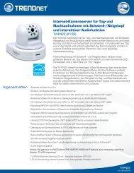 TRENDnet TV-IP422 - aplusnet.de
