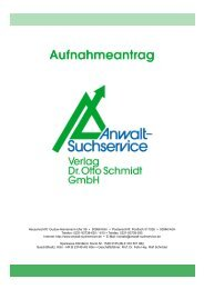 Hausanschrift: Gustav-Heinemann-Ufer 58 ... - Anwalt-Suchservice