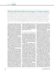 Personalführung 01/2009, S. 90 ff. - Strafverteidiger Rainer Brüssow ...