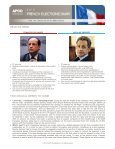 First round of presidential elections - APCO Worldwide - Page 2