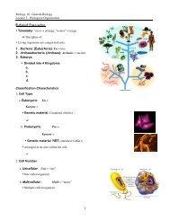Biology 10 - General Biology Lecture 2 - Biological Organization ...