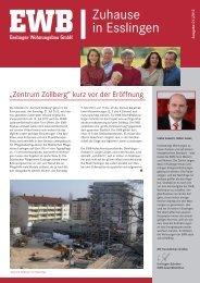 Mieterzeitung 2/2012 - Esslinger Wohnungsbau GmbH