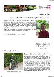 Ausgabe 01/2012 Liebe Freunde und Förderer der ... - FES Dresden