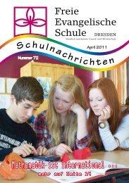 Schulnachrichten Nr. 72 - FES Dresden