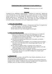 Satzung des Fördervereins - FES Dresden