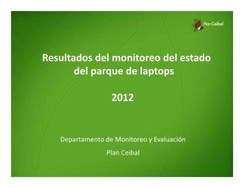 monitoreo abril – noviembre 2012 - Plan Ceibal