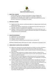 BASES PARTICULARES (Anexo A). 1. OBJETO DEL LLAMADO El ...