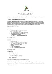 Bidding Conditions and Specifications Public Bidding ... - Plan Ceibal