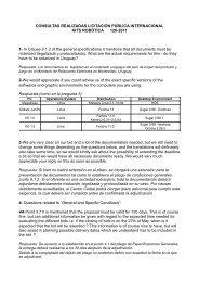Respuestas a consultas - Plan Ceibal