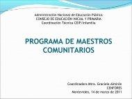 Programa de Maestros Comunitarios