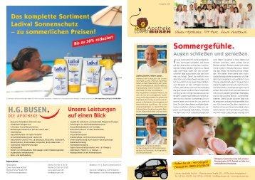 Loewen Zeitung 2_09 - LÖWEN APOTHEKE HG BUSEN