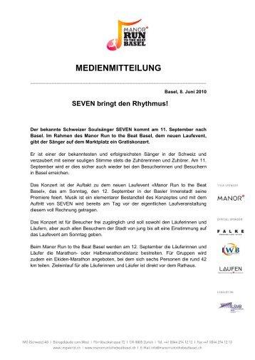 SEVEN bringt den Rhythmus - IMG (Schweiz)