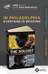 Resource Guide and Calendar of Events - Free Library of Philadelphia