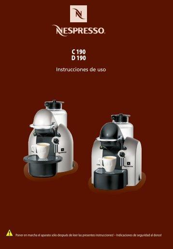 C 190 D 190 - Nespresso