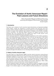 The Evolution of Aortic Aneurysm Repair: Past Lessons and Future ...